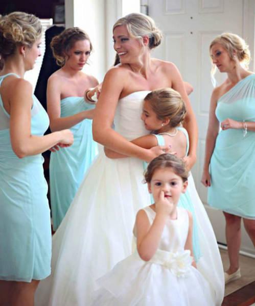 صور اطفال صغار لا يحبون حفلات الزواج