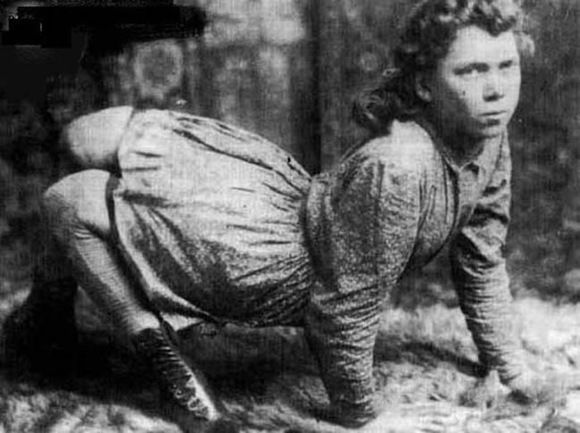 صور عجيبة و حقيقية لأشخاص عاشو بين 1800 و 1900