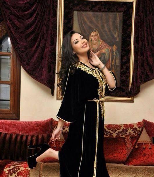 صور اجمل جميلات القفطان المغربي