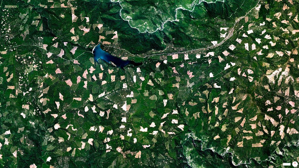 صور رائعة حول العالم من الأقمار الصناعية