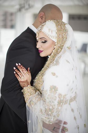صور زواج محجبات جميلات