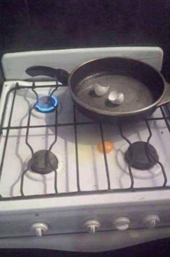 صور أسوء محولات الطبخ في حالة سكر