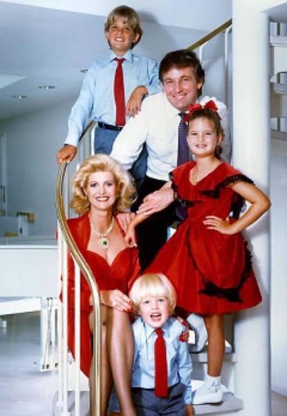 صور دونالد ترامب منذ الطفولة