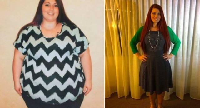 صور صادمة لنساء قبل وبعد خسارة الوزن