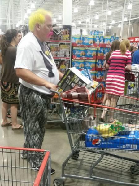 صور مضحكة و غبية من اسواق امريكية