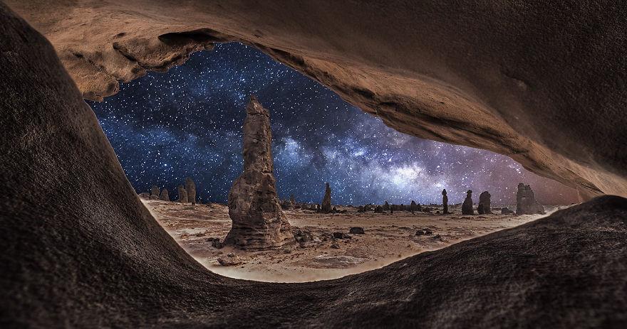 صور جميلة للسماء مليئة بالنجوم