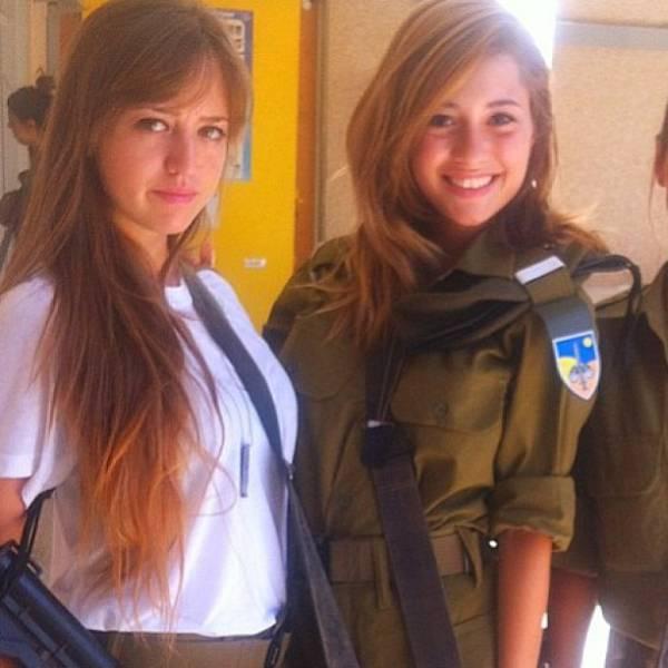 صور حسناوات الجيش الإسرائيلي