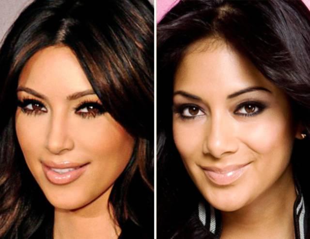 صور مشاهير متشابهين كأنهم توائم