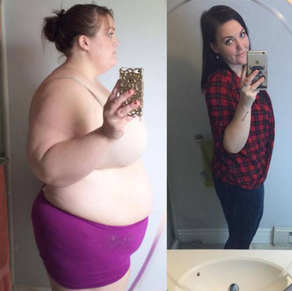 صور بنات قبل وبعد فقدان الوزن